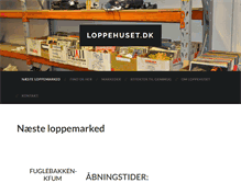 Tablet Preview of loppehuset.dk